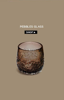 Pebbles glass