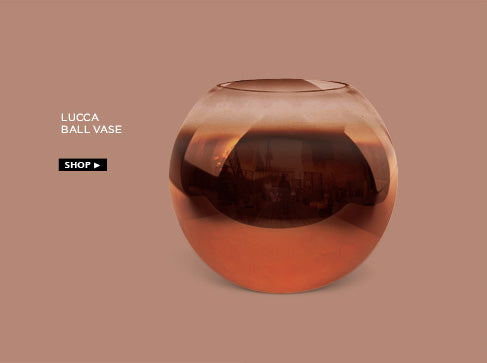 Lucca ball vase