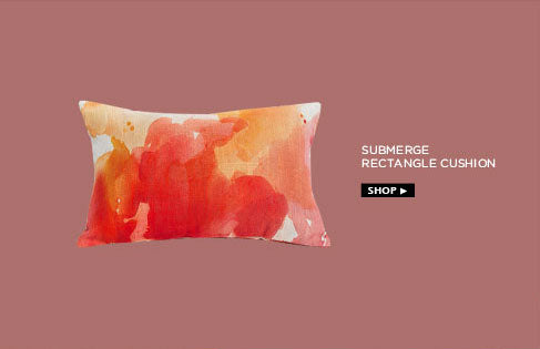 Submerge rectangle cushion