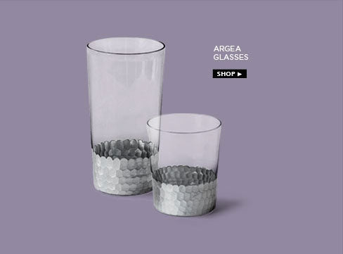 Argea glasses in silver