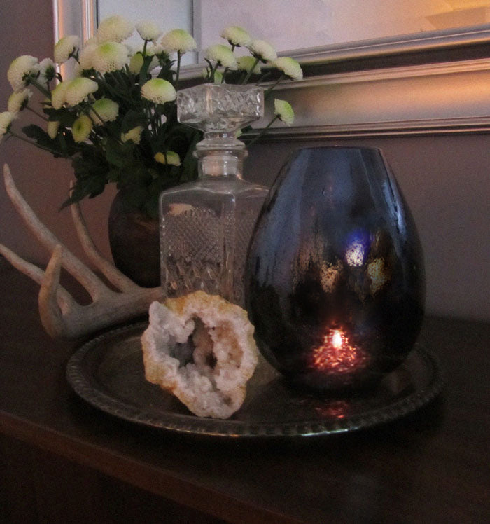 Unexpected Votives - Nebula vase
