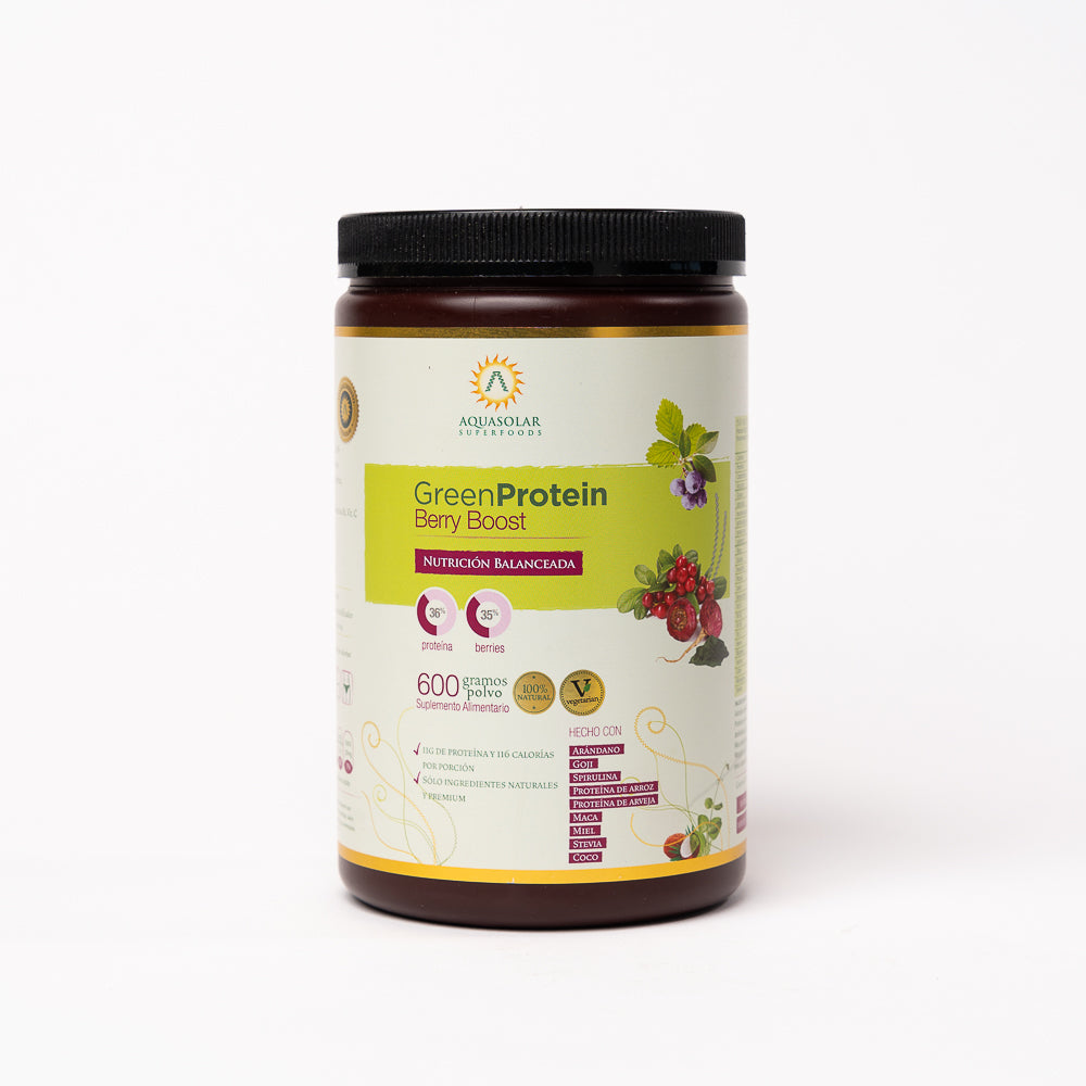 Proteína Berry Boost polvo 600 grs