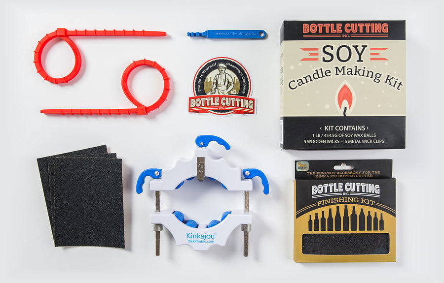 Bright White (White/Blue) + Candle Kit
