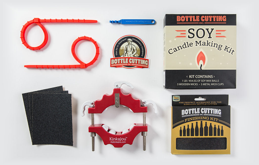 Canadian (Red/White) + Candle Kit