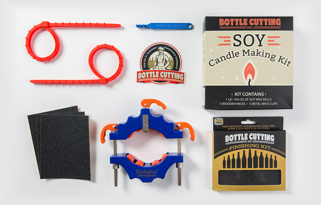 Gator (Blue/Orange) + Candle Kit