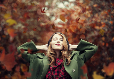 Make Fall Images Pop with Falling Leaves Photoshop Actions & Overlays