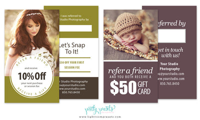 Free Referral Cards for Your Photography Business
