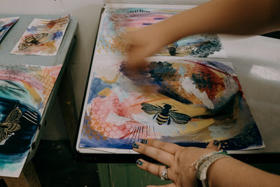 Photographing an Artist in Her Studio