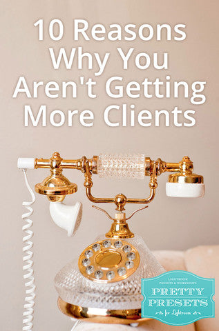 10 Reasons Why You Aren't Getting Photography More Clients: You Haven't Networked with Other Business Owners