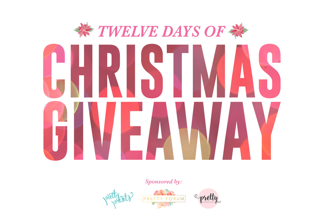 free home giveaway 12 days of christmas giveaway free 2017 holiday overlays 1799