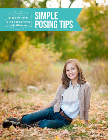 5 Posing Solutions for Every Photographer | Pretty Presets Photography Tutorial