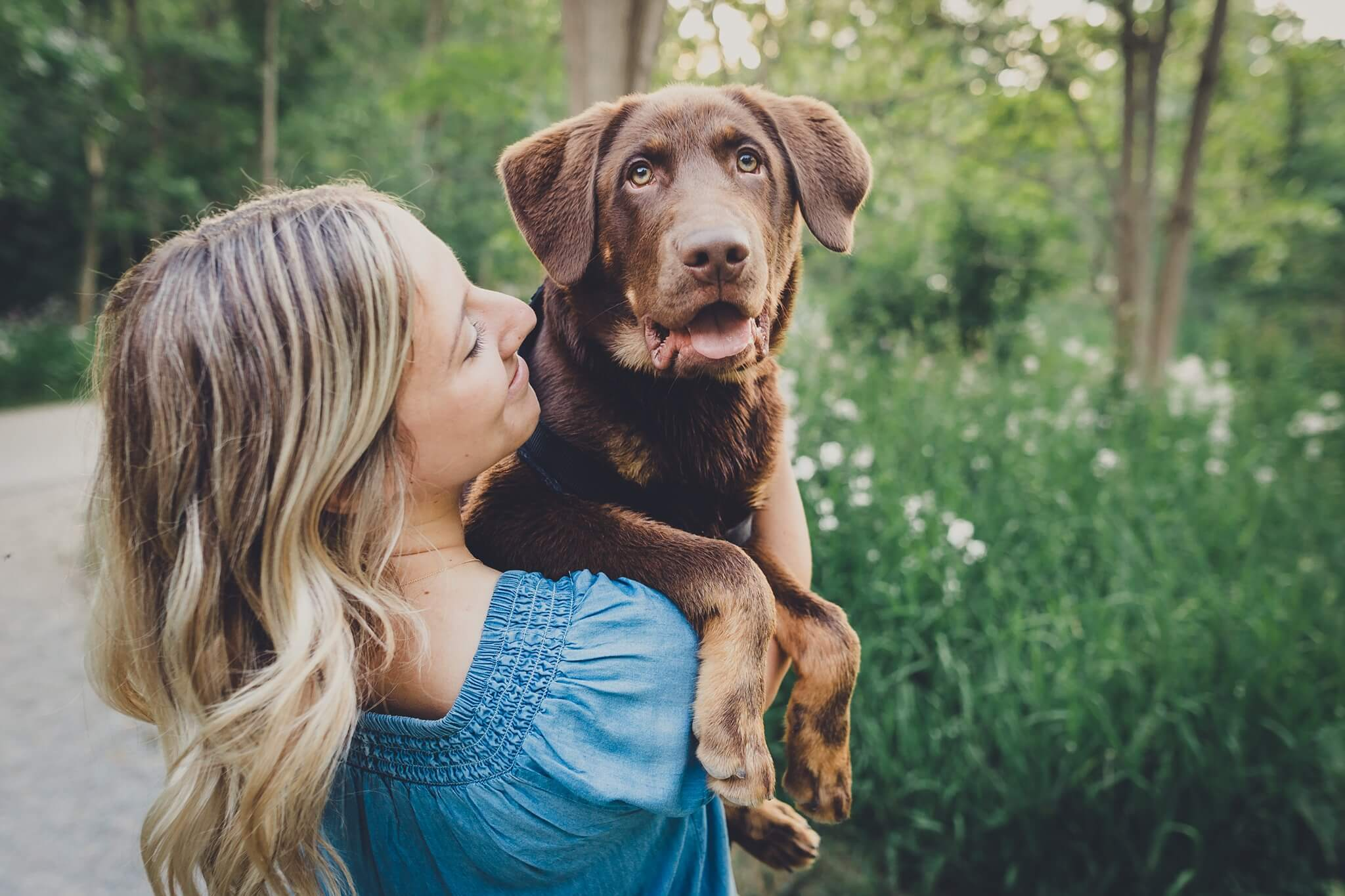 People and their pets Facebook Photography Challenge