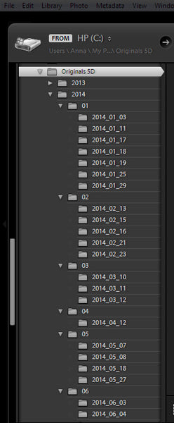 Lightroom Import to Export: Keeping Tabs on Your Files
