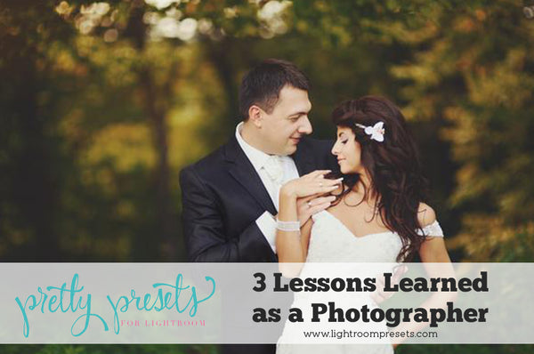 Make the most of mistakes lessons learned as a photographer
