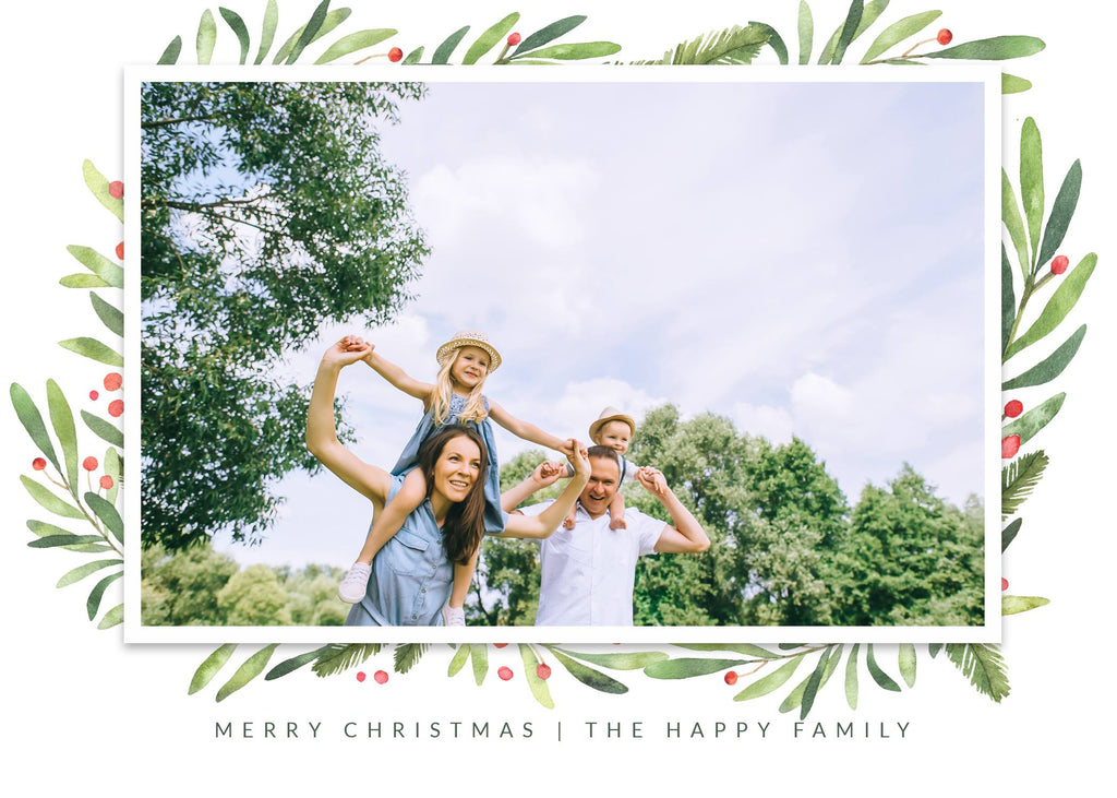 3 Free Christmas Card Templates Pretty Presets For Lightroom