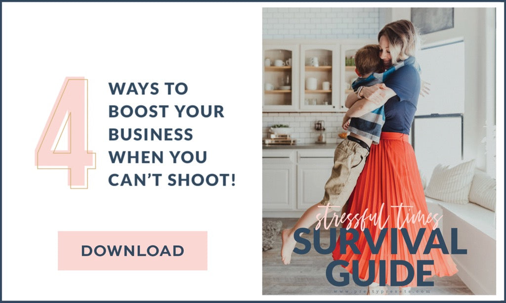 4 Ways to Boost Your Photography Income (When You Can't Shoot)