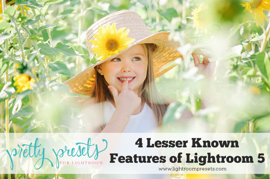 4 Lesser Known Features of Lightroom 5 | Pretty Presets Lightroom Tutorial
