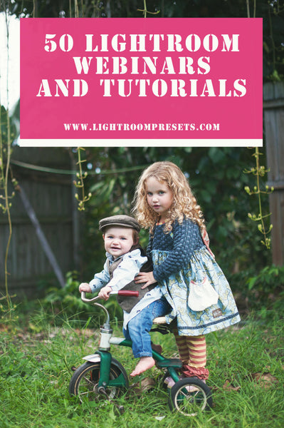 50 FREE Lightroom Tutorials & Trainings | Pretty Presets Lightroom Tutorials