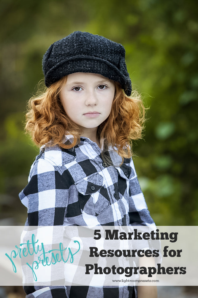 5 Marketing Resources for Photographers + FREE Bonus Downloads