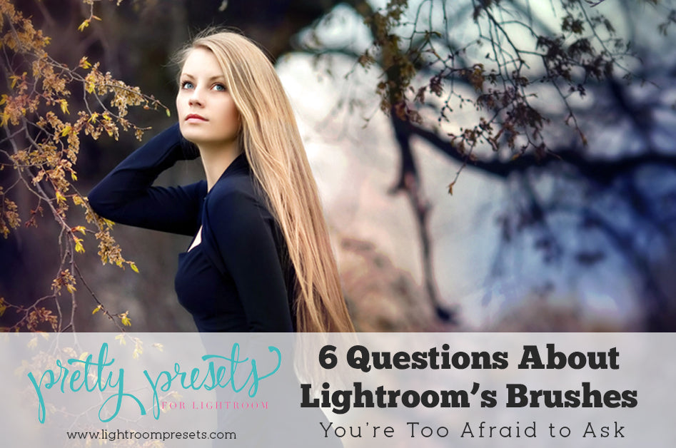 6 Questions About Lightroom's Brush Tool You're Too Afraid to Ask | Pretty Presets Lightroom Tutorial