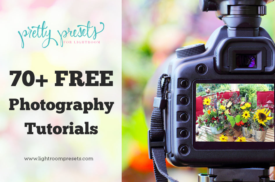 70 Free Photography Tutorials