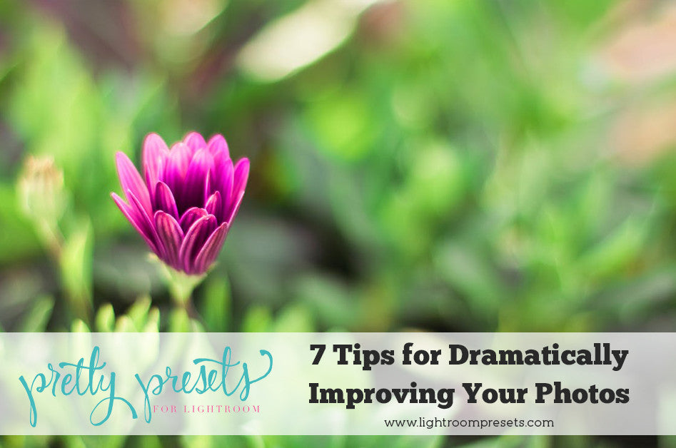 7 Tips for Dramatically Improving Your Photos