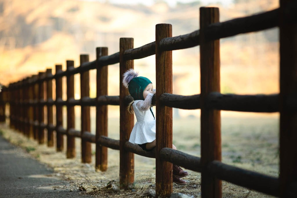favorite 2019 photo - girl sitting on fence