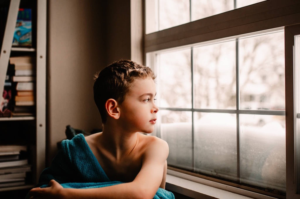 favorite 2019 photo - Boy looking out window