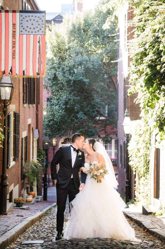 Favorite 2019 photos - Bride and Groom kissing