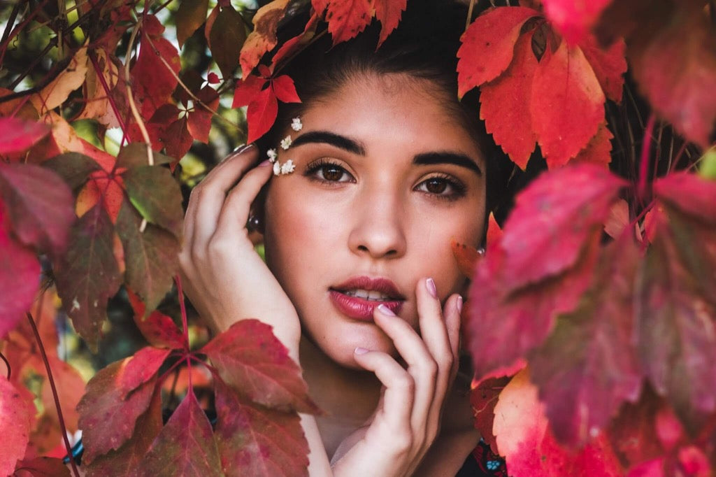 best photo 2019 - Woman in fall leaves