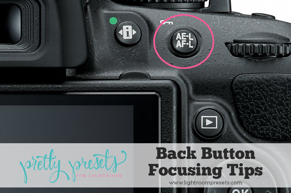Learn how to back button focus on a DSLR
