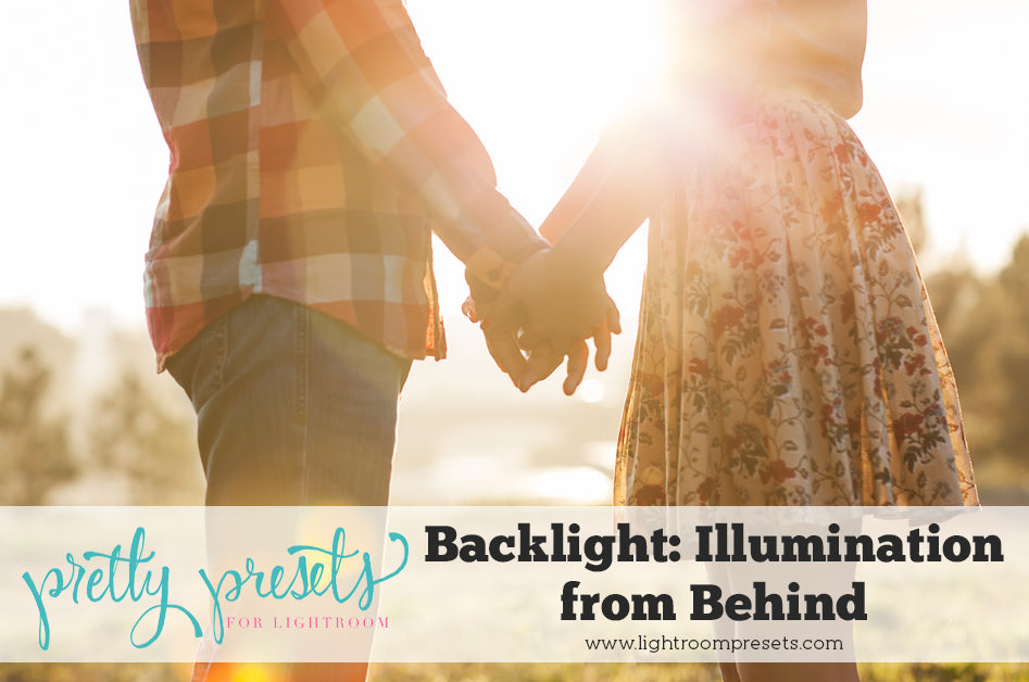 How to achieve beautiful backlight in photos