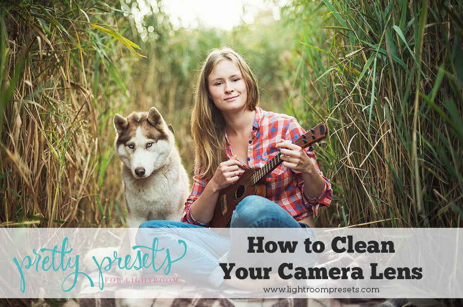 How to clean your camera lens