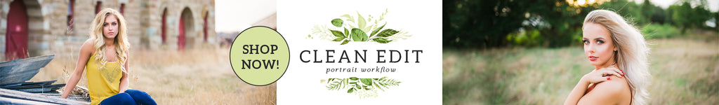 Clean Edit Portrait Lightroom Presets