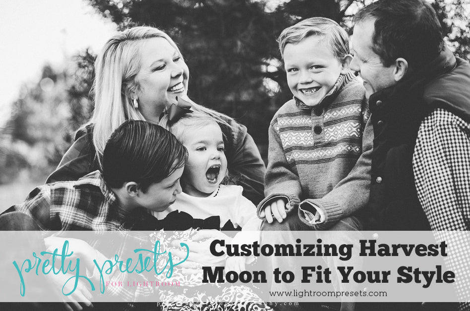 Customizing the Harvest Moon Lightroom Preset to fit your style | Pretty Presets for Lightroom Tutorial