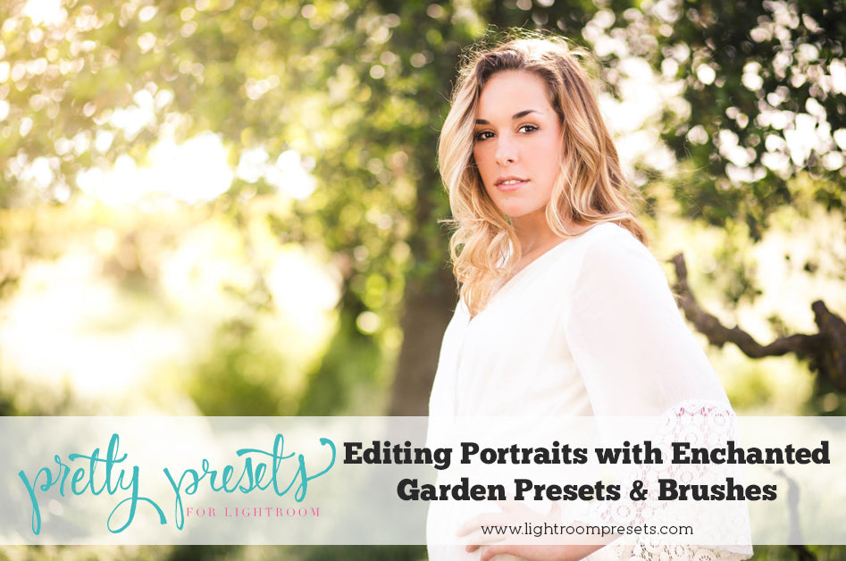Editing Portraits with Lightroom Presets | Pretty Presets Lightroom Tutorial