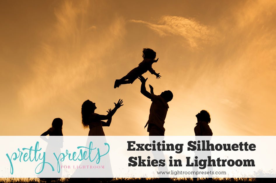 Creating an Exciting Silhouette Sky in Lightroom | Pretty Presets Lightroom Tutorial