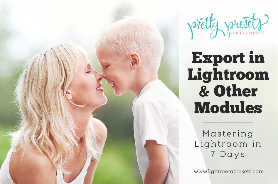 File settings Lightroom export