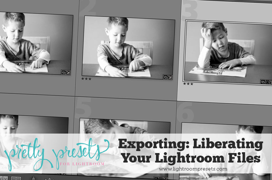 Exporting Your Photos out of Lightroom | Pretty Presets Lightroom Tutorial