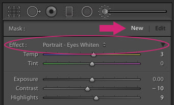 How to Whiten Eyes in Lightroom
