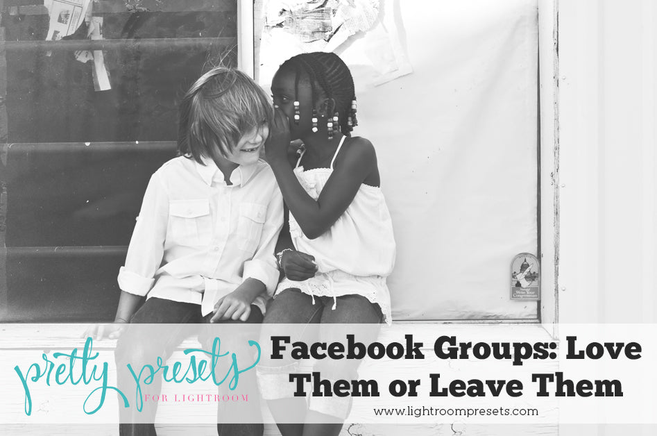 Facebook Groups to grow your photography skills