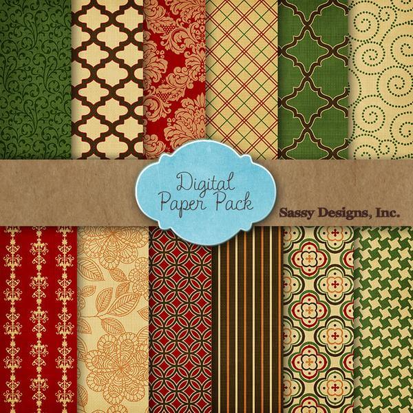 Free Digital Scrapbook Paper