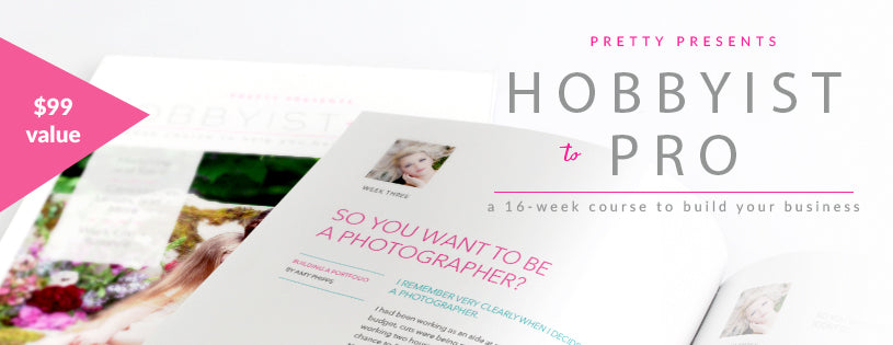 Hobbyist to Pro for Photographers