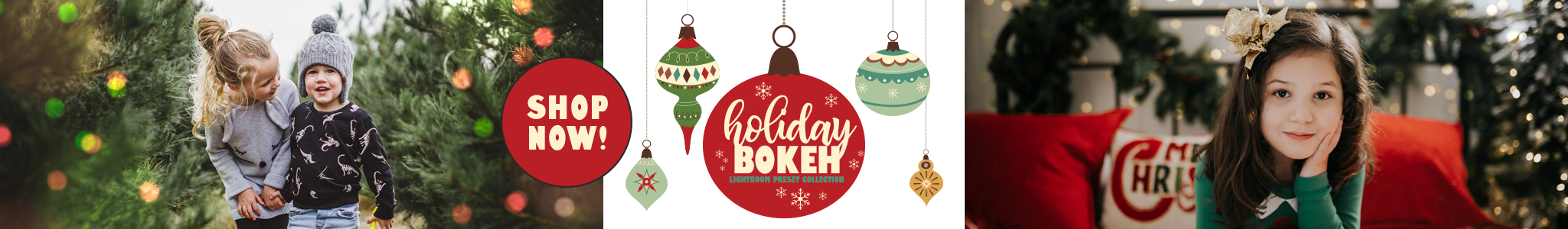Lightroom Presets Holiday Bokeh Collection