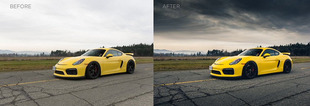 How to Edit Car Photos in Lightroom