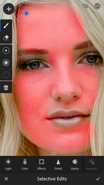 How to Smooth Skin Texture in Lightroom Mobile