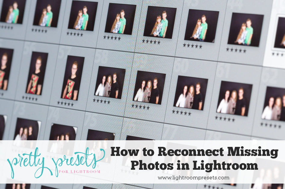 How to Reconnect Missing Photos & Folders in Lightroom