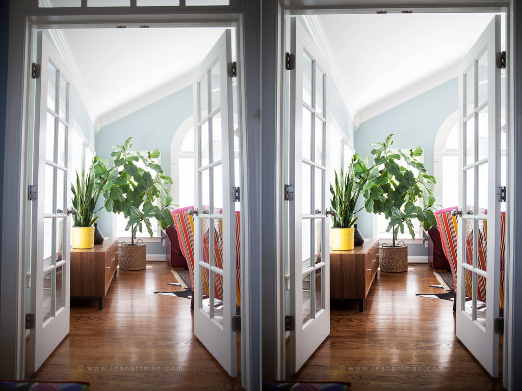 Lightroom Presets Processing Workflow for Interior Images