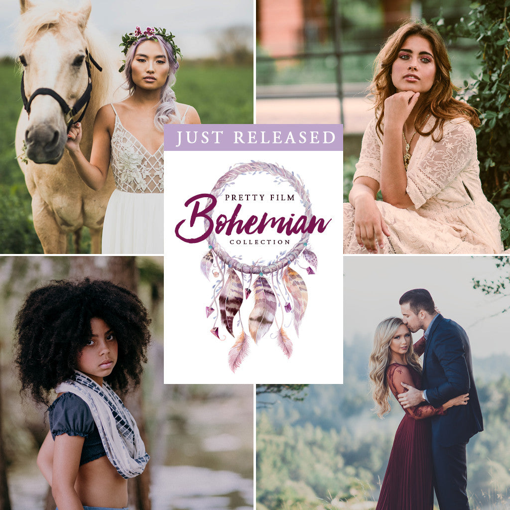 Pretty Film Bohemian Collection for Lightroom