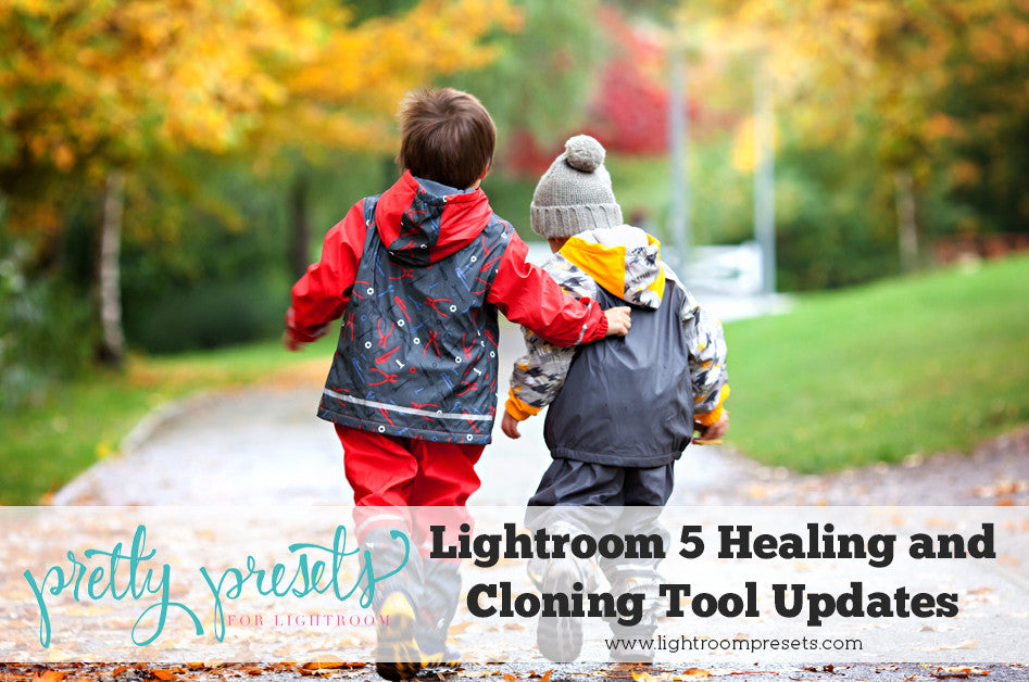 Lightroom 5 Healing and Cloning Tool Updates | Pretty Presets Lightroom Tutorial